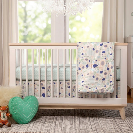 Baby Crib - Babyletto Scoot 3-in-1 Convertible Crib With Toddler Bed Conversion Kit (White/Washed)