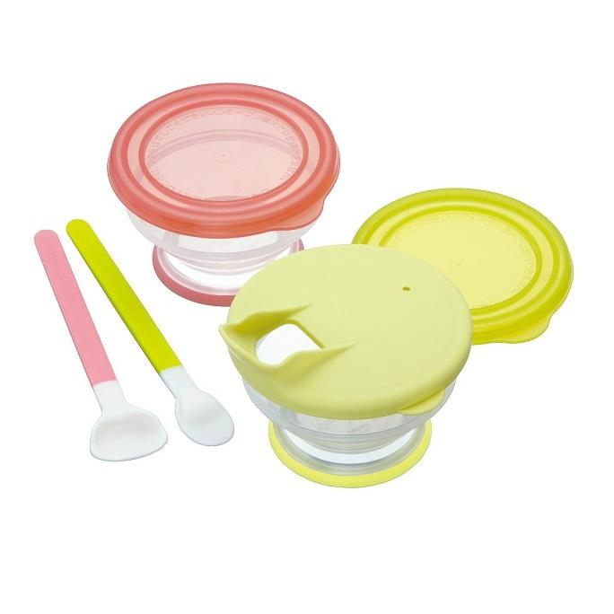 Baby Dish And Plate - Pigeon Feeding Support Set