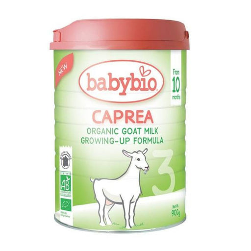 Baby Food - Babybio CAPREA 3 Organic Goat Milk Growing-Up Formula, 900g.