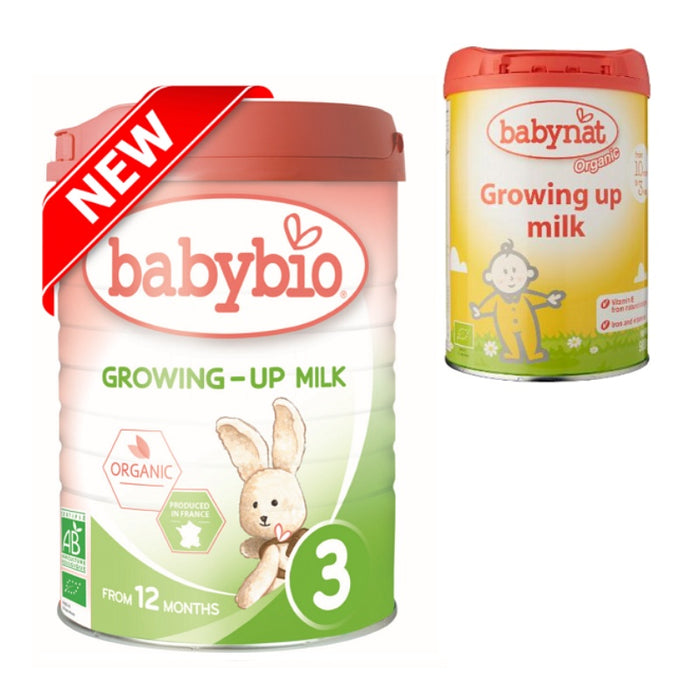 Baby Food - Babybio Organic Growing Up Milk (10 Mos. Onwards), 900 G