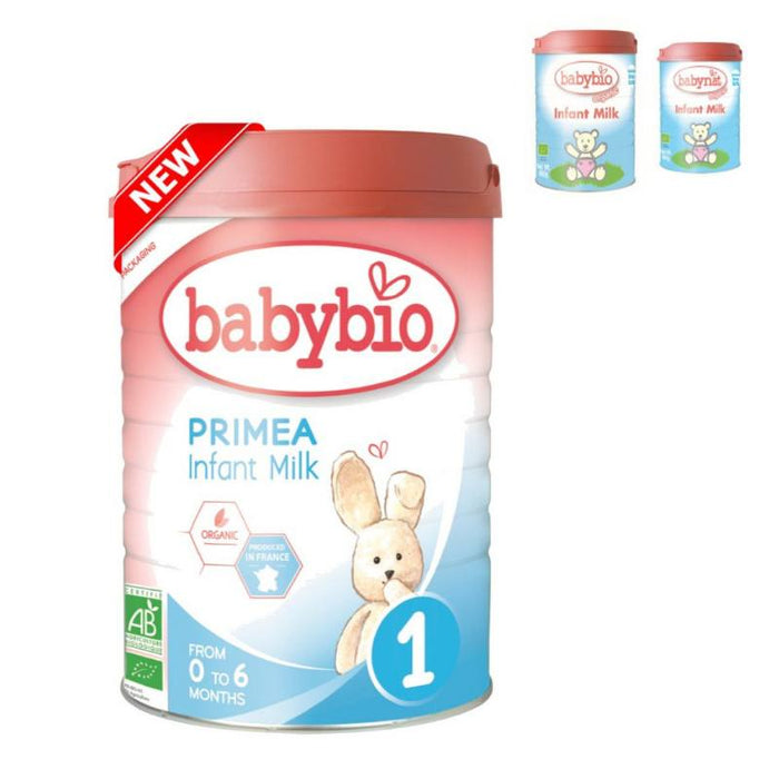 Baby Food - Babybio Organic Primea 1 Infant Milk (0-6 Mos.), 900 G