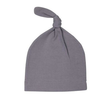 Baby Hat - MOBY Knot Hat - Slate