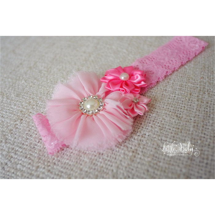 Baby Headband - Little Em's Headband A4 - Light Pink