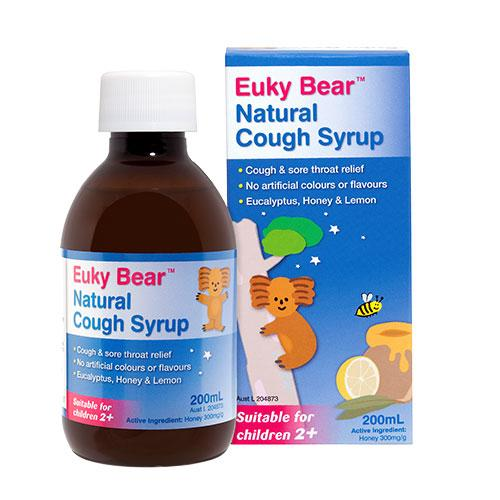 Baby Health - Euky Bear Natural Cough Syrup