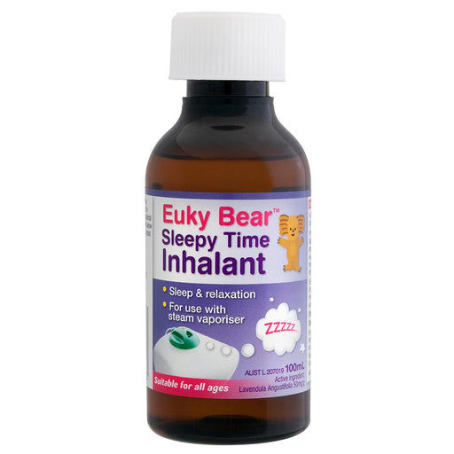 Baby Health - Euky Bear Sleepy Time Inhalant 100ml (Exp 2022)