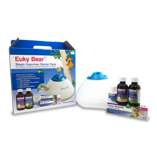 Baby Health - Euky Bear Steam Vaporiser Starter Kit  (With 3-pin SG Plug)