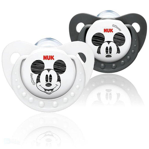 Baby Pacifier - NUK Disney Mickey Silicone Soother (0 - 6 Months)