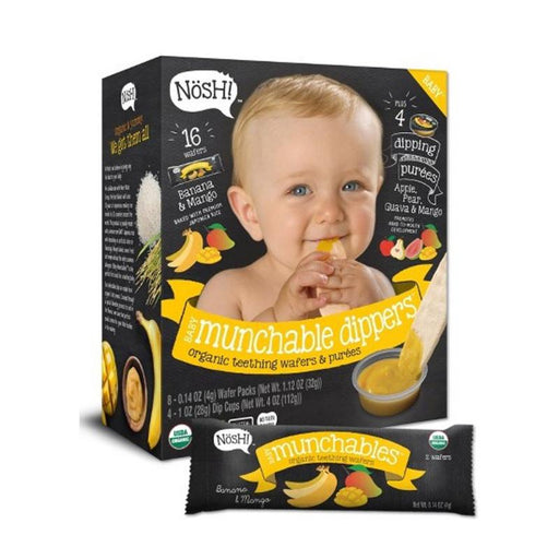 Baby Snack - Nosh Baby Munchables Dippers- Banana Mango, 144g