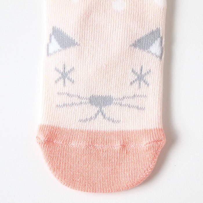 Baby Socks - Hoppetta Animal Socks 9 To 11 Cm - Pink
