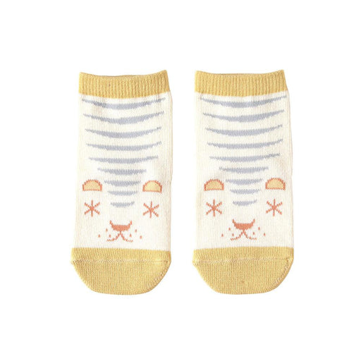 Baby Socks - Hoppetta Animal Socks 9 To 11 Cm - Yellow
