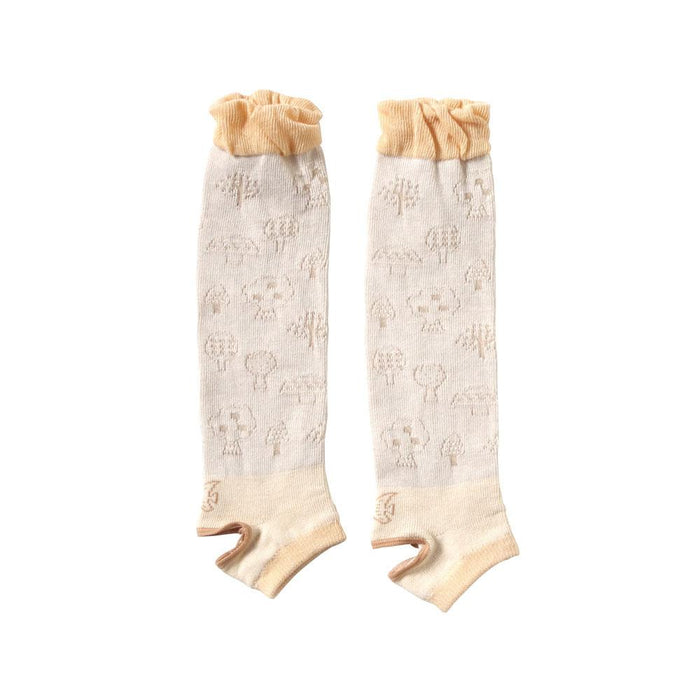 Baby Socks - Hoppetta Long Socks - Trenca Beige