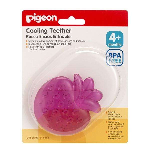 Baby Teether - Pigeon Cooling Teether – Fruits Series (Strawberry)