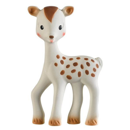 Baby Teether - Sophie The Giraffe Fanfan The Fawn (100% Natural Rubber)