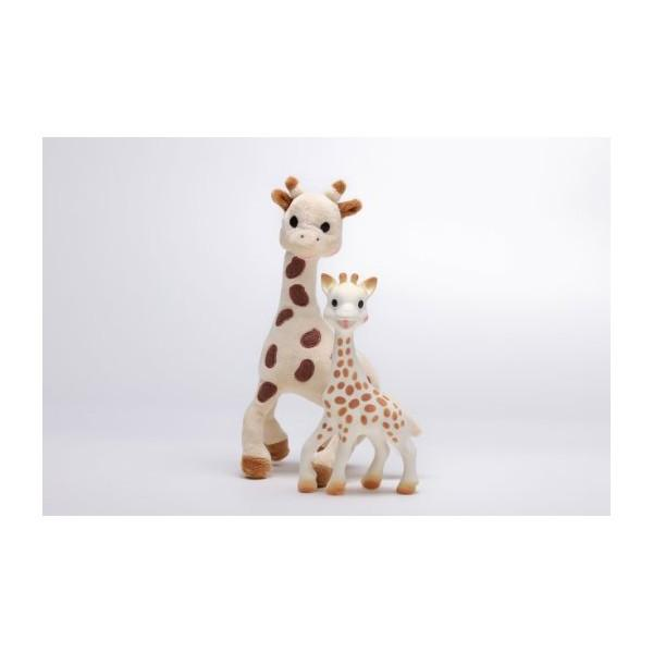 Baby Teether - Sophie The Giraffe Set: Giraffe Soft Toy + Sophie The Giraffe Teether