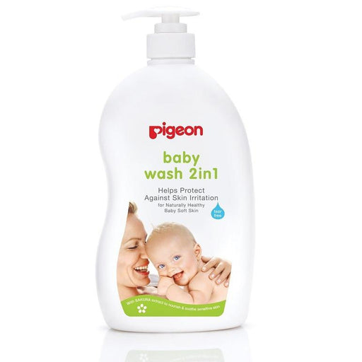 Baby Wash - Pigeon Sakura Baby Wash 2-in-1 (500ml)