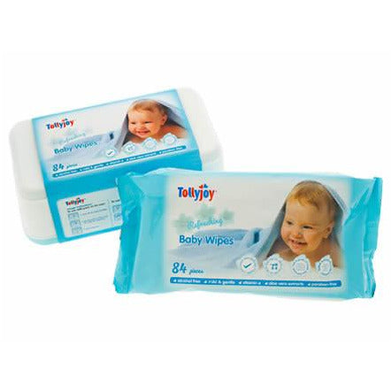 Tollyjoy Refreshing Wipes (84s) x 3 Pack