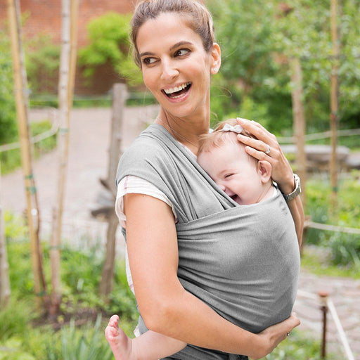 Baby Wrap - MOBY Wrap Classic 100% Cotton - Gray