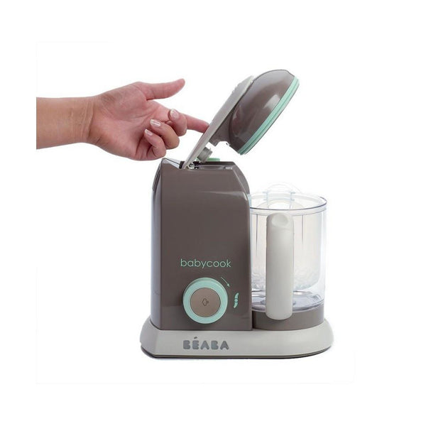 Beaba 4 in 1 Babycook Food Maker - Pastel Blue - Little Baby