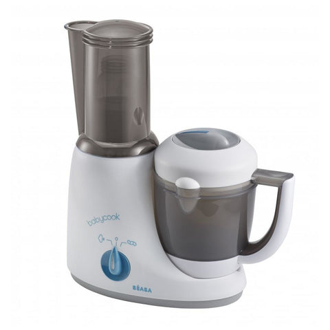 Beaba 4 in 1 Babycook® Original Plus - Peacock (Teal grey/blue)