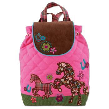Backpack - Stephen Joseph Signature Backpacks (Girl Horse)