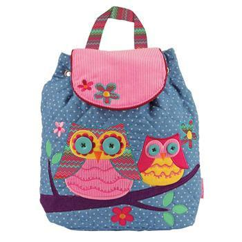 Backpack - Stephen Joseph Signature Backpacks (Teal Owl)