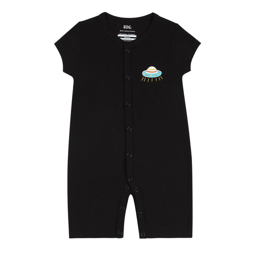 Bamboo Clothes - Baby's Dream Garden To The Moon Flat Bottom Onesie
