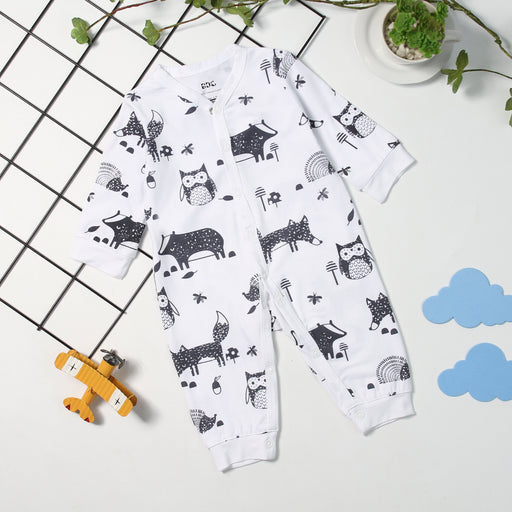 Bamboo Clothes - Baby's Dream Garden Zoologist Long Sleeve Pyjamas