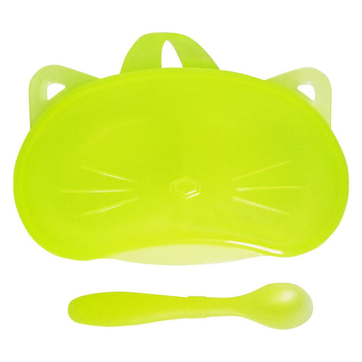 Bonbijou Easy Grip Feeding Bowl With Spoon