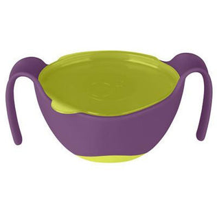 Bowls - B.Box 3-in-1 Bowl And Straw - Passion Splash