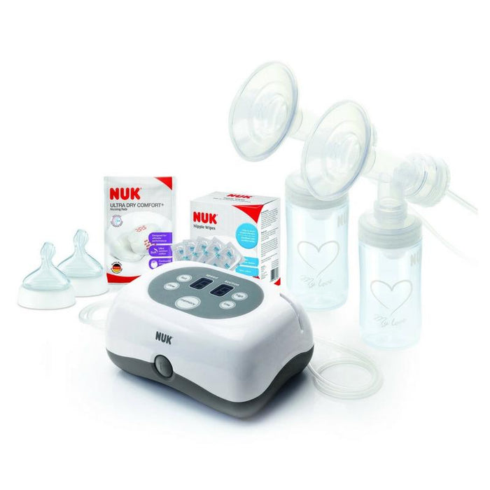 Breast Pump - NUK Double Electric Breast Pump Starter Set