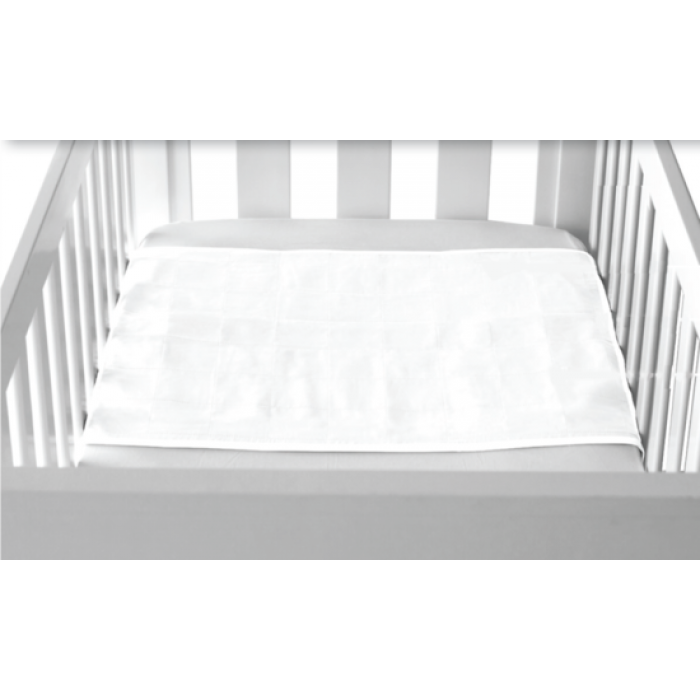 Brolly Sheets, Cot Pad, White (70x50cm)