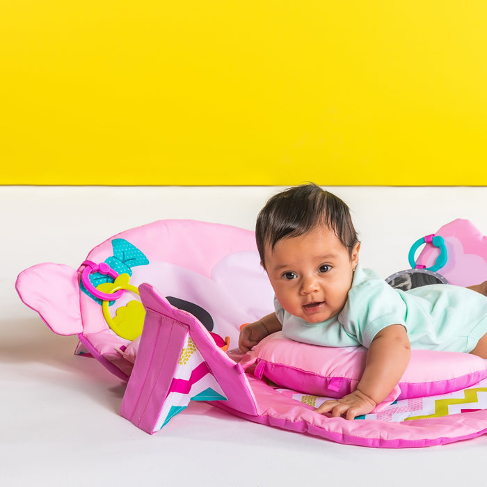 Bright Starts Tummy Time Prop & Play Prop Mat - Owl BS11032 P