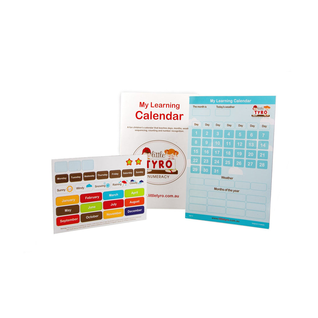 Little Tyro My Learning Calendar - Little Baby
