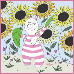 Canvas - Emily J. Piglet Canvas (Register Of Interest)