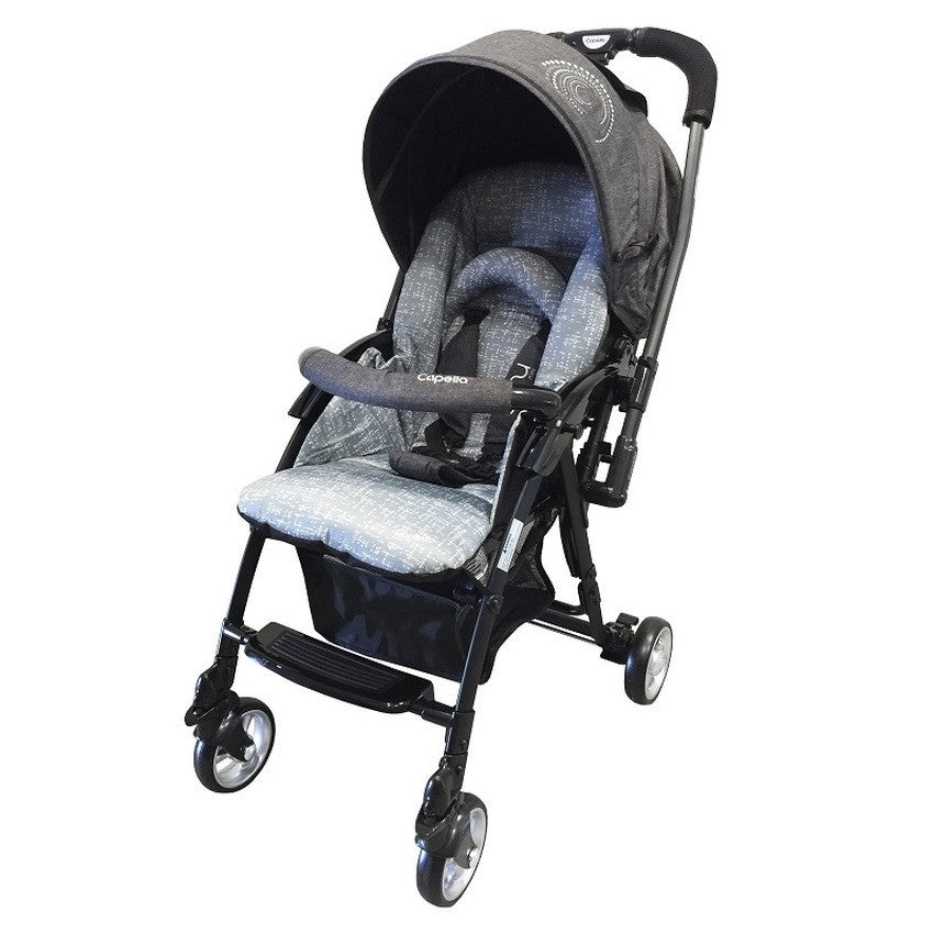 Capella Coni Mini Stroller 2016 - BLACK - Little Baby
