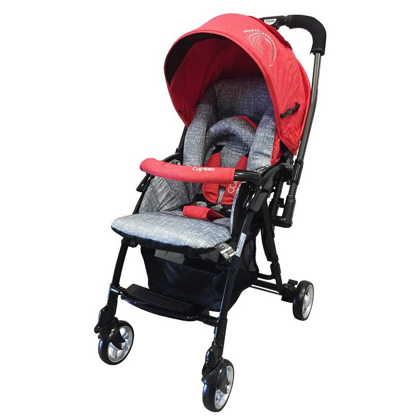 Capella Coni Mini Stroller 2016 - RED - Little Baby