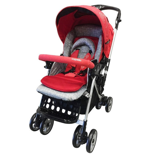 Capella Adonis Travel System Stroller 2016 - RED - Little Baby