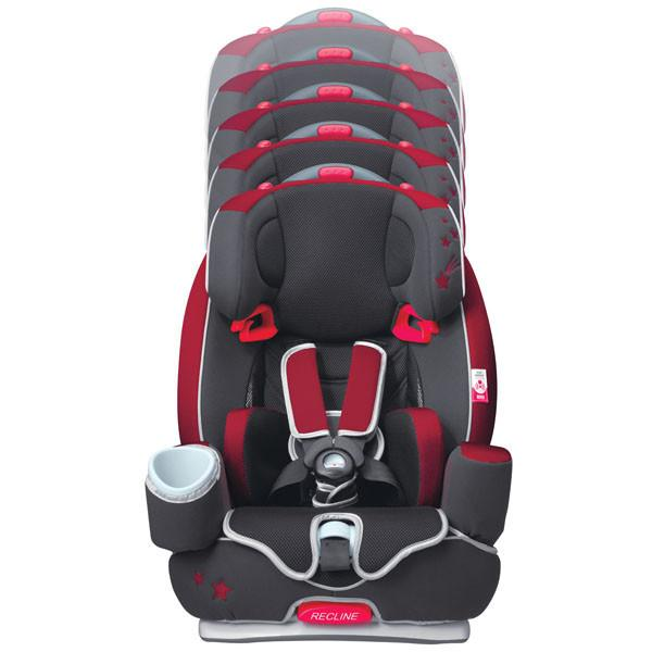 Car Seat - Aprica Euro HarnessDX Spring SPRINKLE RED