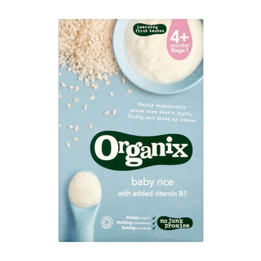 Cereal - Organix Organic Baby Rice, 100 G.