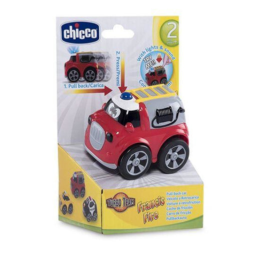 Chicco Turbo Team Workers Fire Truck - Chicco Turbo Team Workers Fire Truck