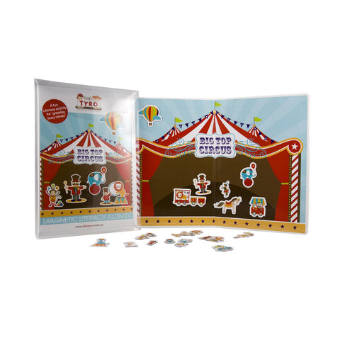 Little Tyro Magnetic Big Top Circus Activity