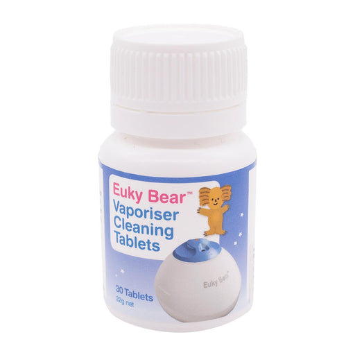 Cleaning Tablet - Euky Bear Steam Vaporiser Cleaning Tablets 30s