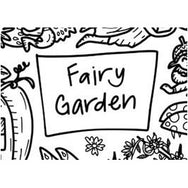 Colouring Mat - DrawnBy: Jessica - Fairy Garden Washable Silicone Colouring Mat