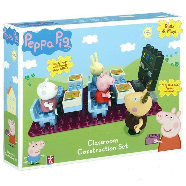 Construction Toys - PEPPA PIG - Classroom Construction Playset