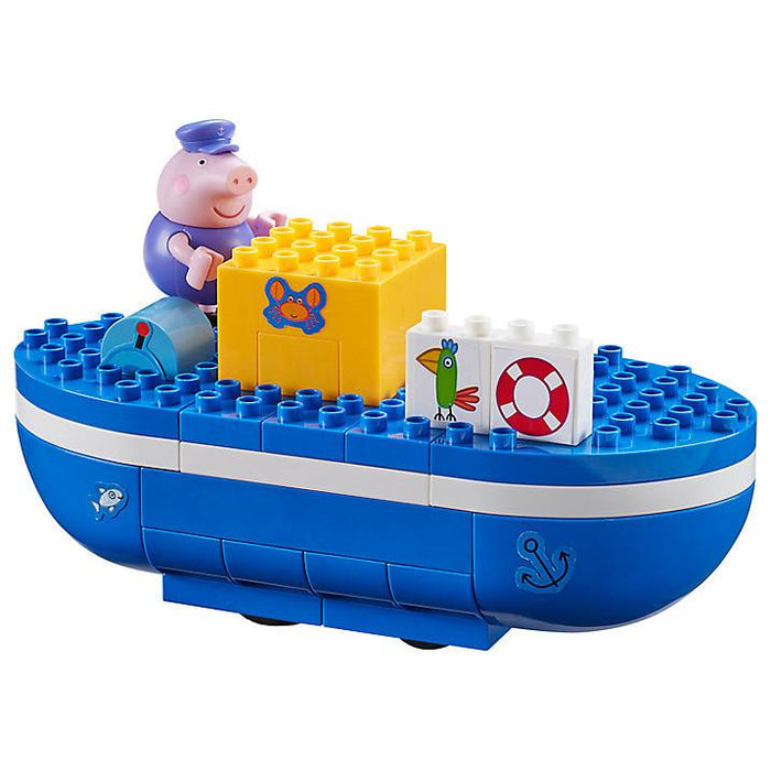 Construction Toys - PEPPA PIG - Grandpa Pig's Boat Construction Set
