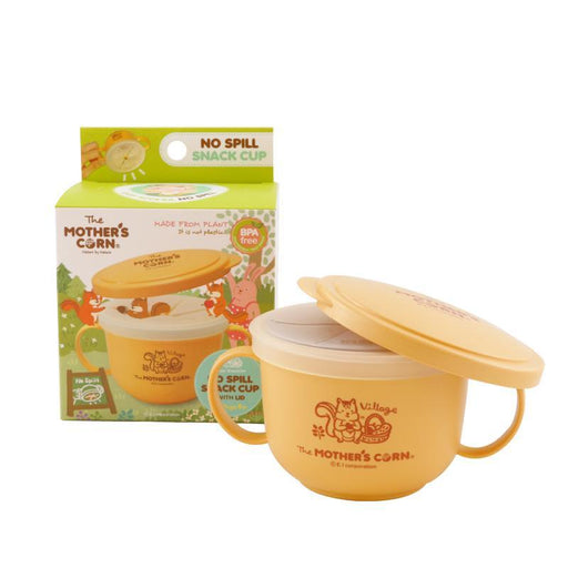 Cup Set - Mother's Corn 4-in-1 No Spill Snack Cup Set - Get Free Snack
