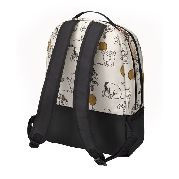Diaper Bag - Petunia Pickle Bottom Axis Backpack: Winnie The Pooh And Friends