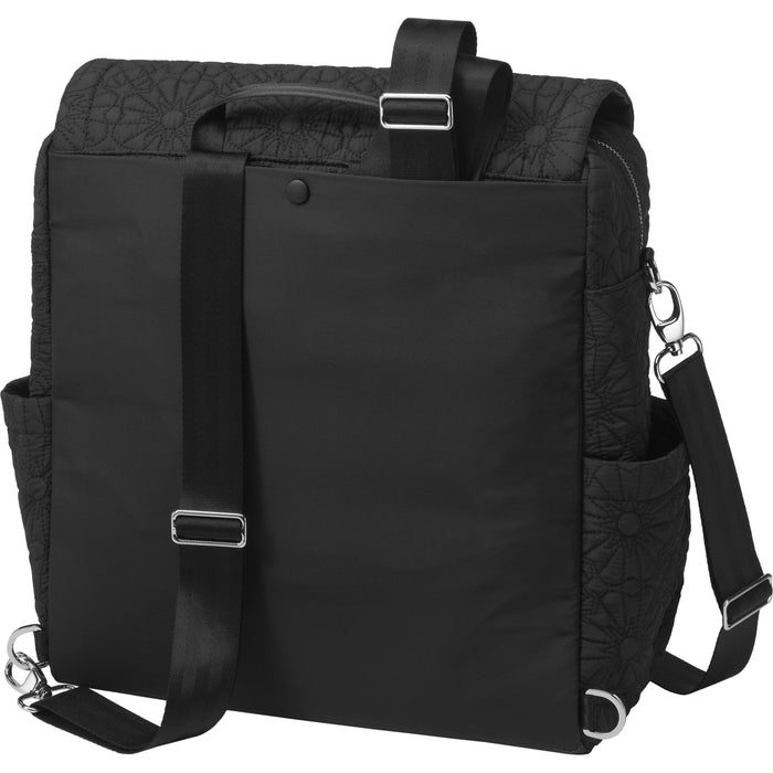 Diaper Bag - Petunia Pickle Bottom Boxy Backpack: Bedford Avenue Stop