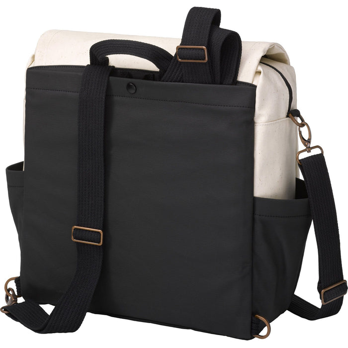 Diaper Bag - Petunia Pickle Bottom Boxy Backpack - Birch/Black