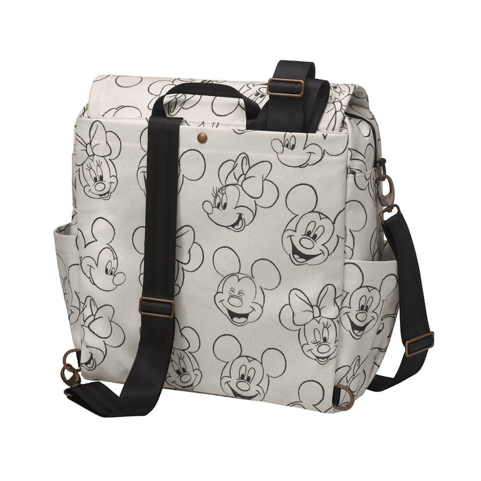 Diaper Bag - Petunia Pickle Bottom Boxy Backpack In Sketchbook: Mickey & Minnie